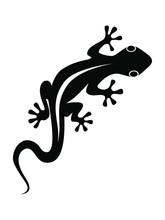 Lizard Graphic Icon. Lizard Bl...