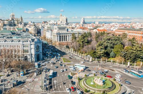 Madrid City Spain Fototapeta