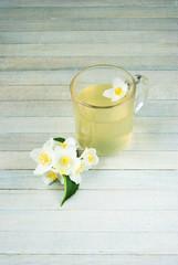 Obraz na płótnie Canvas Jasmine tea