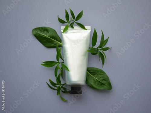 Fotografía  Natural cosmetic packaging