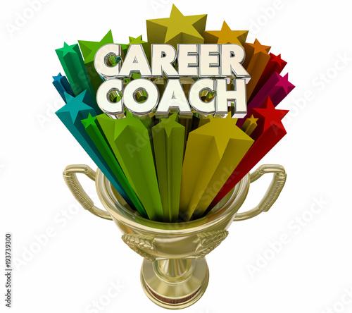 Career Coach Best Mentor Trophy Award 3d Illustration - Buy