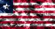 Liberia smoke flag