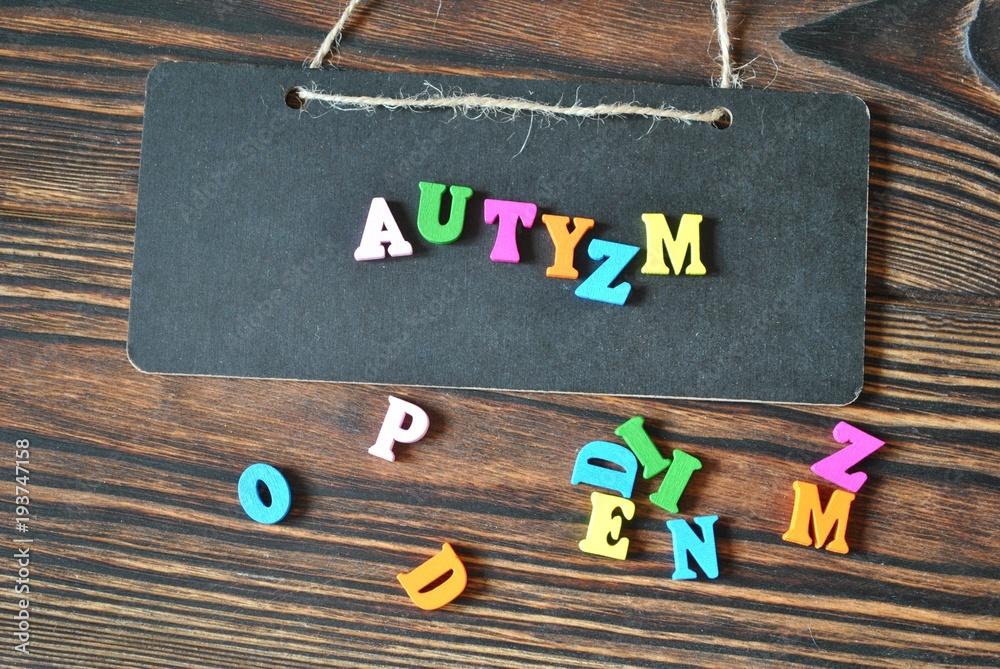 Fototapety, obrazy: Autyzm