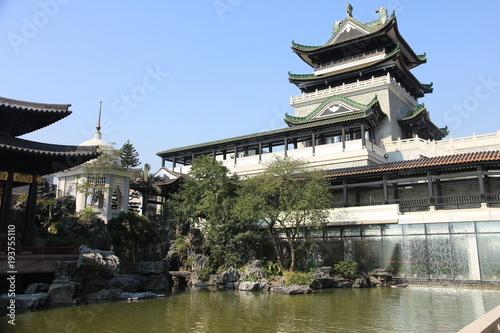 Fotografia  Traditional Chinese Architecture in Guangzhou, China