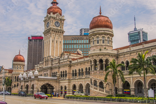 Sultan Abdul Samad building Kuala Lumpur Malaysia Canvas Print
