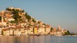 Time Lapse of Sibenik City in Croatia - Sibenik is a historic city in Croatia in central Dalmatia where Krka river flows into Adriatic Sea. Sibenik is the oldest native Croatian town on the shores.