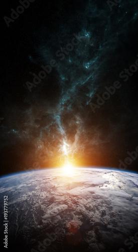 planeta-ziemia-w-przestrzeni-renderowania-3d