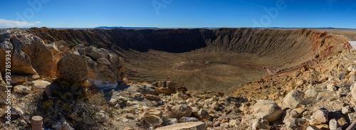 Fotografia Meteor Crater panorama