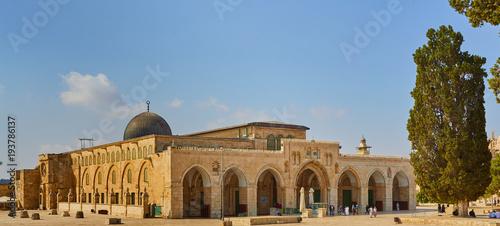 Obraz na płótnie Mosque of Al Aqsa Jerusalem