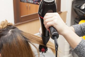 Kuaför saç yapımı,fön