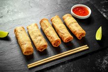Chinese Vegetable Spring Rolls...