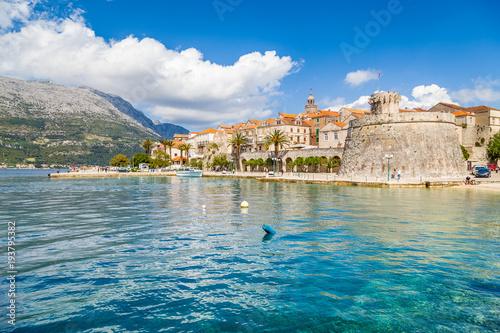 Valokuva  Town of Korcula, Dalmatia, Croatia