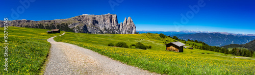 Canvas Prints Alps mountain landscape panorama