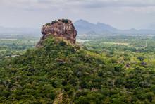 View Of Sigiriya Lion Rock, Sri Lanka