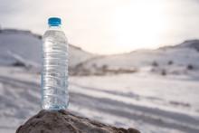 Water Bottle With Snowy Mounta...