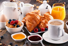 Breakfast Served With Coffee, ...