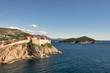 View of Dubrovnik from Lovrijenac fort, Croatia