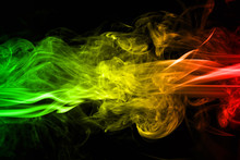 Abstract Background Smoke Curv...