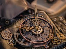 Uhr Im Steampunk Style
