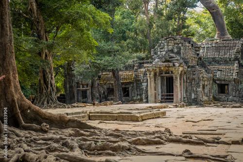 Plakat angkor temple 3