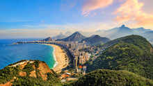Copacabana Beach And Ipanema B...