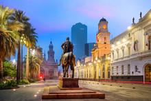 Plaza De Las Armas Square In S...