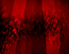 Abstract Red Black Background With Ripples And Vertical Stripes