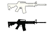 Assualt Style Rifle Gun