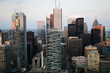 Aerial of Toronto Financial District