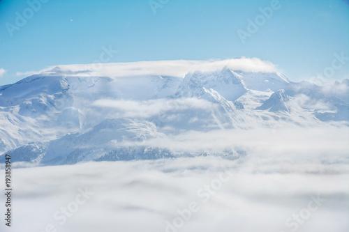 Fototapety, obrazy: Winter in den Alpen