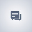 SMS icon, Chat icon