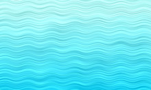 Aqua Blue Wavy Stripes Vector ...