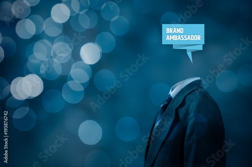 Photo Brand ambassador professional