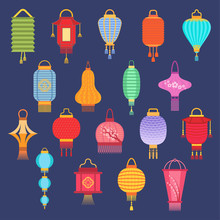 Chinese Lantern Ligher Vector ...