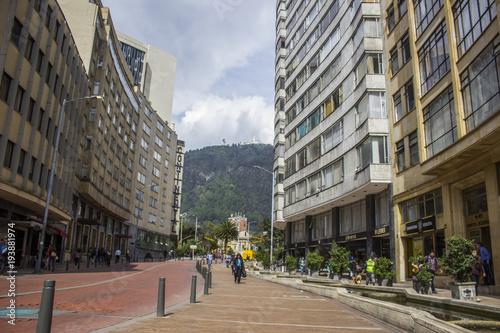 Las calles de Bogotá