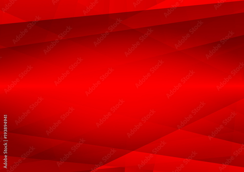 Abstract red color geometric modern design vector background eps10 with copy space