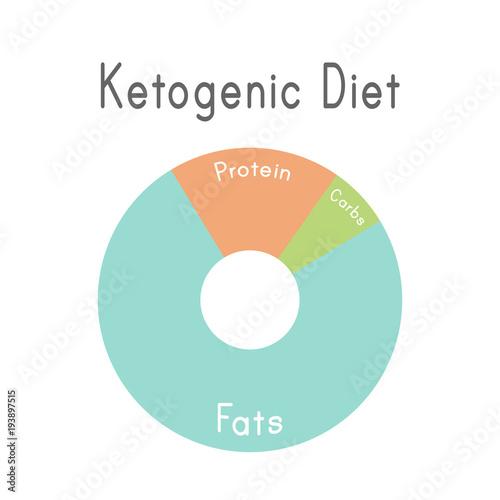 ketogenic diet macros diagram low carbs high healthy fat buy rh stock adobe com