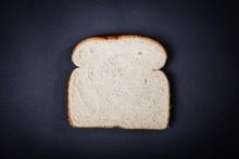 One Slice Of White Sandwich Br...