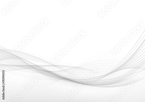 Poster Abstract wave Elegant speed futuristic high-tech swoosh wave stream background