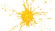 splash yellow paint