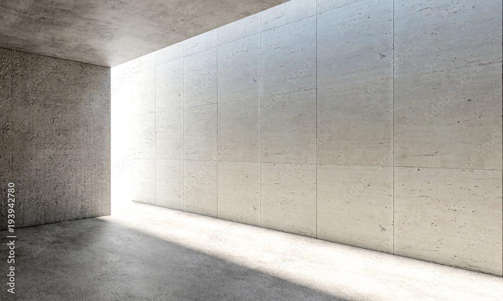Fototapeta concrete modern interior