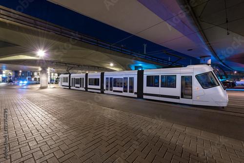 E-Straßenbahn in Ludwigshafgen