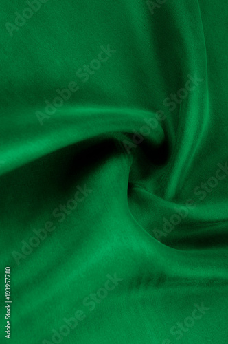 background texture pattern thick thick silk fabric is green this