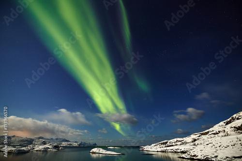 Foto auf Gartenposter Nordlicht Northern lights