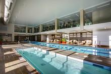 Upscale Indoor Swimming Pool I...
