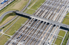 Aerial Image Of Channel Tunnel...