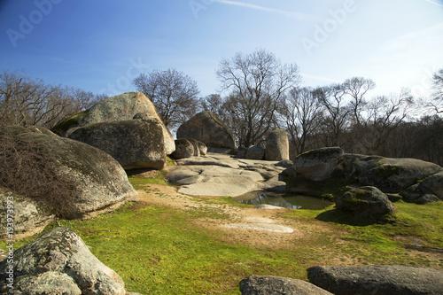 Photo sur Plexiglas Zen pierres a sable antient thracian sactuary