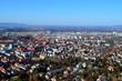 Blick auf Freiburgs Norden