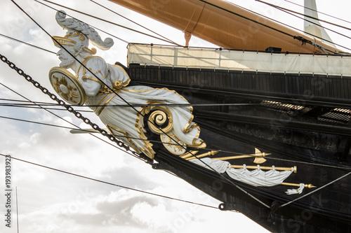 Foto HMS Warrior Figurehead