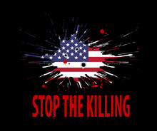 Stop The Killing. Vector Anti ...